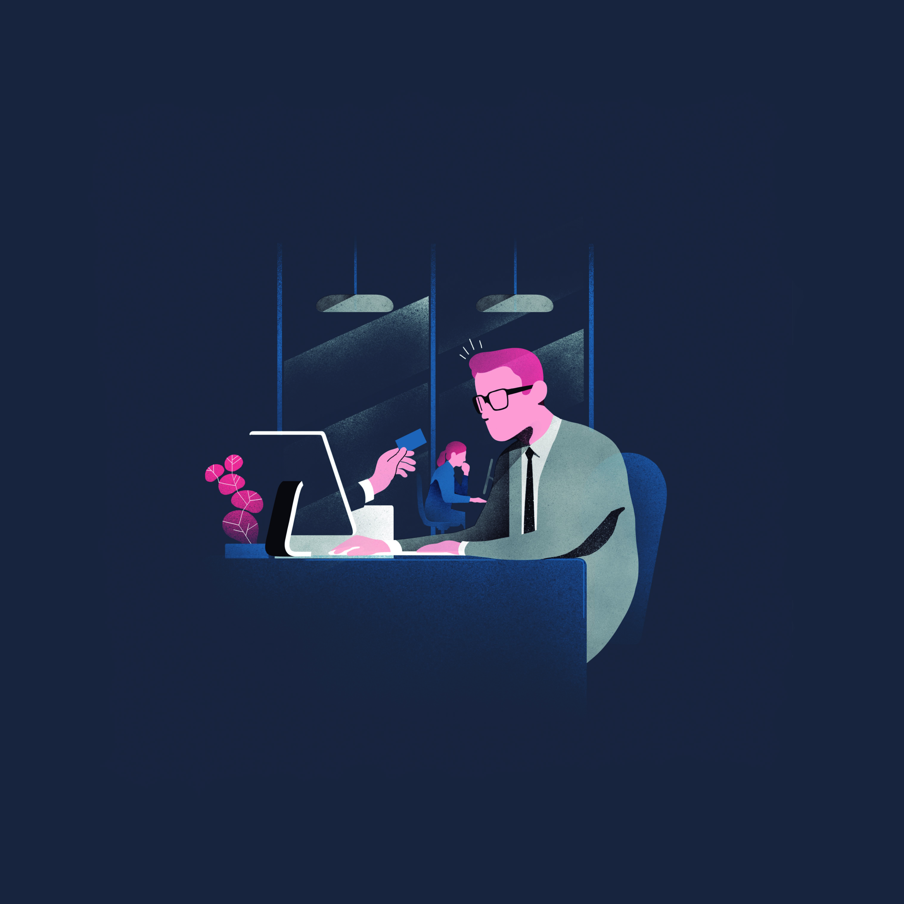 Lufthansa illustrations 2
